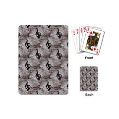 Music Playing Cards (Mini)