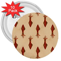Octopus 3  Button (10 pack)