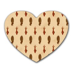 Octopus Mouse Pad (Heart)