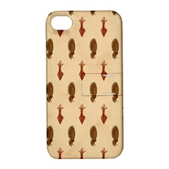 Octopus Apple iPhone 4/4S Hardshell Case with Stand