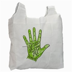 Palmistry Recycle Bag (One Side)