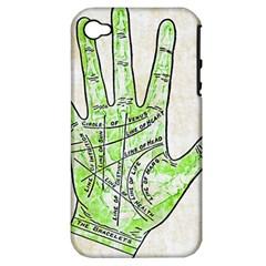 Palmistry Apple iPhone 4/4S Hardshell Case (PC+Silicone)