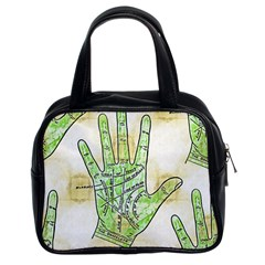Palmistry Classic Handbag (Two Sides)