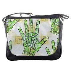 Palmistry Messenger Bag
