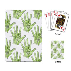 Palmistry Playing Cards Single Design