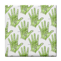 Palmistry Face Towel