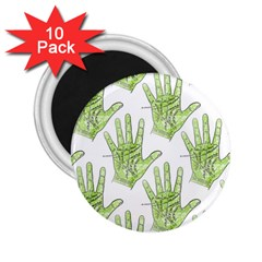 Palmistry 2.25  Button Magnet (10 pack)