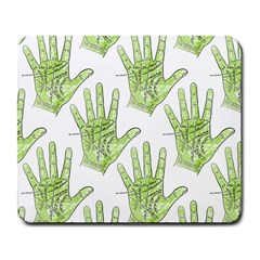 Palmistry Large Mouse Pad (Rectangle)