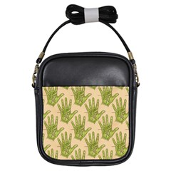 Palmistry Girl s Sling Bag