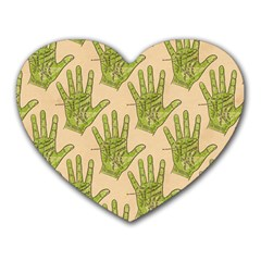 Palmistry Mouse Pad (Heart)