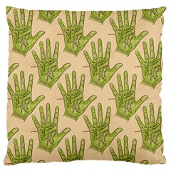 Palmistry Large Cushion Case (Two Sides)