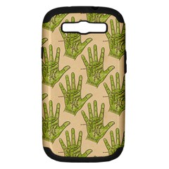 Palmistry Samsung Galaxy S III Hardshell Case (PC+Silicone)
