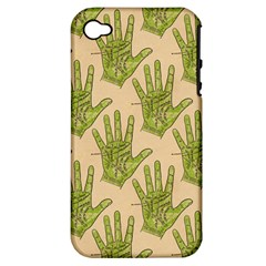 Palmistry Apple iPhone 4/4S Hardshell Case (PC+Silicone)