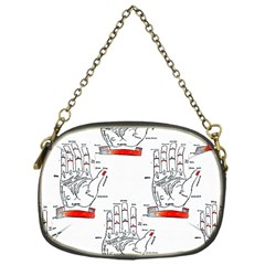 Palmistry Chain Purse (One Side)