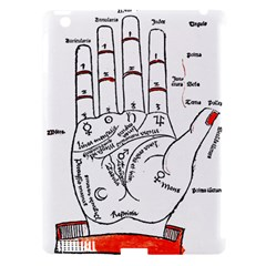 Palmistry Apple iPad 3/4 Hardshell Case (Compatible with Smart Cover)