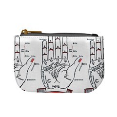 Palmistry Coin Change Purse