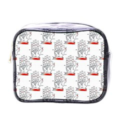 Palmistry Mini Travel Toiletry Bag (One Side)