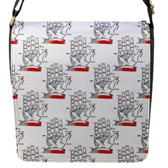 Palmistry Flap closure messenger bag (Small)
