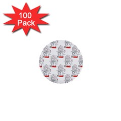 Palmistry 1  Mini Button (100 pack)