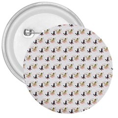 Retro Poodles  3  Button