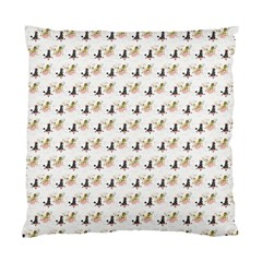 Retro Poodles  Cushion Case (Two Sides)