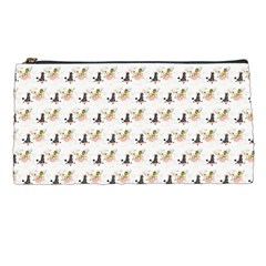 Retro Poodles  Pencil Case