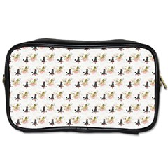 Retro Poodles  Travel Toiletry Bag (One Side)