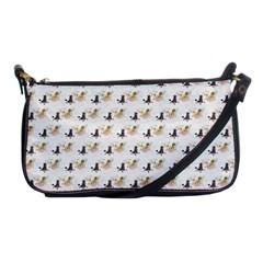 Retro Poodles  Evening Bag