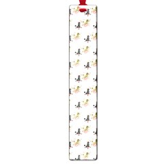 Retro Poodles  Large Bookmark