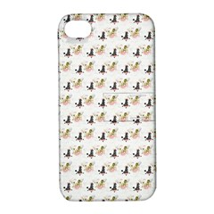 Retro Poodles  Apple iPhone 4/4S Hardshell Case with Stand