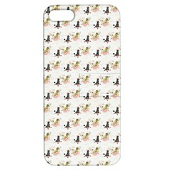 Retro Poodles  Apple iPhone 5 Hardshell Case with Stand