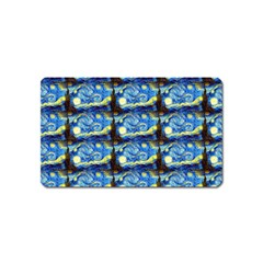 Starry Night By Vincent Van Gogh 1889  Magnet (Name Card)