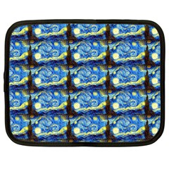 Starry Night By Vincent Van Gogh 1889  Netbook Case (Large)