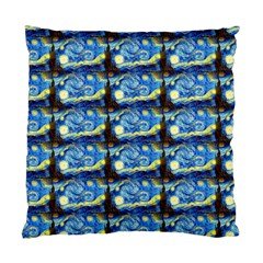 Starry Night By Vincent Van Gogh 1889  Cushion Case (One Side)