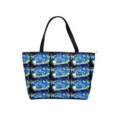 Starry Night By Vincent Van Gogh 1889  Large Shoulder Bag
