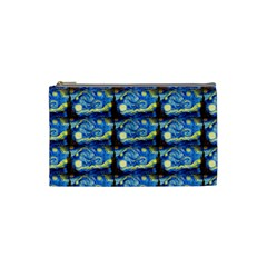 Starry Night By Vincent Van Gogh 1889  Cosmetic Bag (Small)