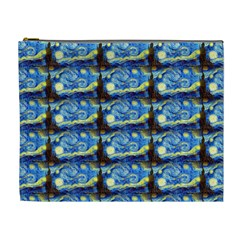 Starry Night By Vincent Van Gogh 1889  Cosmetic Bag (XL)