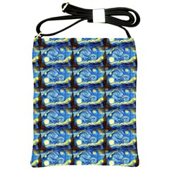 Starry Night By Vincent Van Gogh 1889  Shoulder Sling Bag