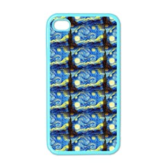 Starry Night By Vincent Van Gogh 1889  Apple iPhone 4 Case (Color)