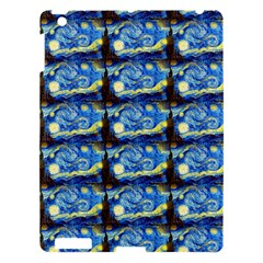 Starry Night By Vincent Van Gogh 1889  Apple iPad 3/4 Hardshell Case