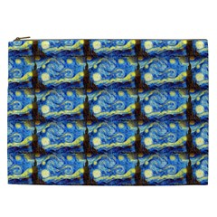 Starry Night By Vincent Van Gogh 1889  Cosmetic Bag (XXL)
