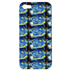 Starry Night By Vincent Van Gogh 1889  Apple iPhone 5 Hardshell Case
