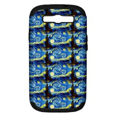 Starry Night By Vincent Van Gogh 1889  Samsung Galaxy S III Hardshell Case (PC+Silicone)