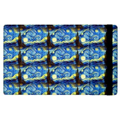 Starry Night By Vincent Van Gogh 1889  Apple iPad 2 Flip Case