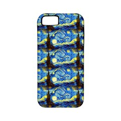 Starry Night By Vincent Van Gogh 1889  Apple iPhone 5 Classic Hardshell Case (PC+Silicone)