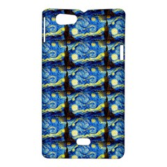 Starry Night By Vincent Van Gogh 1889  Sony Xperia Miro Hardshell Case