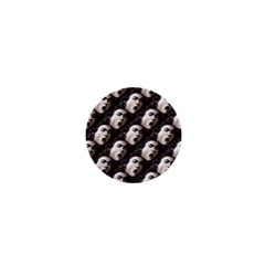 The Head Of The Medusa By Michelangelo Caravaggio 1590 1  Mini Button Magnet