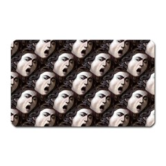 The Head Of The Medusa By Michelangelo Caravaggio 1590 Magnet (Rectangular)