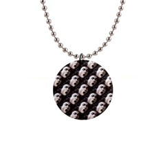 The Head Of The Medusa By Michelangelo Caravaggio 1590 Button Necklace