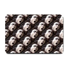 The Head Of The Medusa By Michelangelo Caravaggio 1590 Small Door Mat